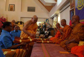 Sangha Meeting84 Years-of Luangta-Chi