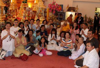 Phra Vidhetdhammarangsi (Luangta Chi)'s 88th Birthday Anniversary