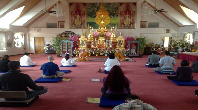 Meditation at Wat Thai D.C.