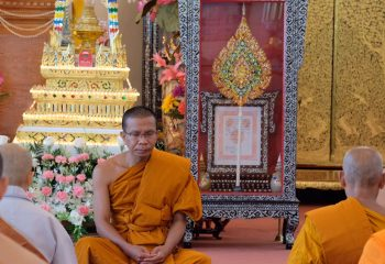 Open Dhamma practice for 93 Year of Luangta Chi