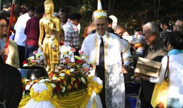 End of Buddhist Lent at Wat Thai DC
